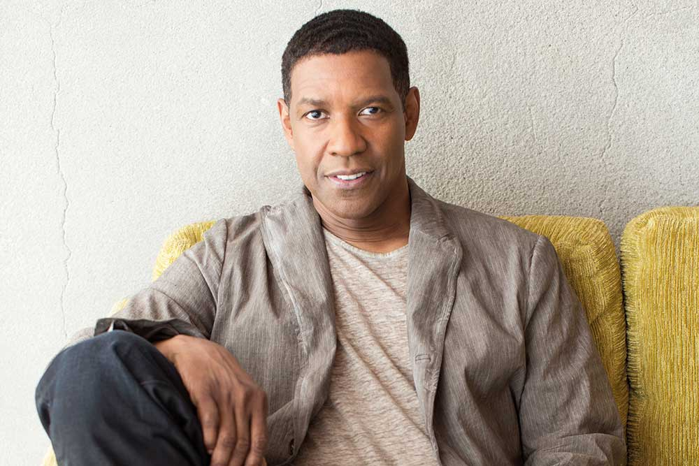 """You figure out what you don't need in your life"" – Denzel Washington"