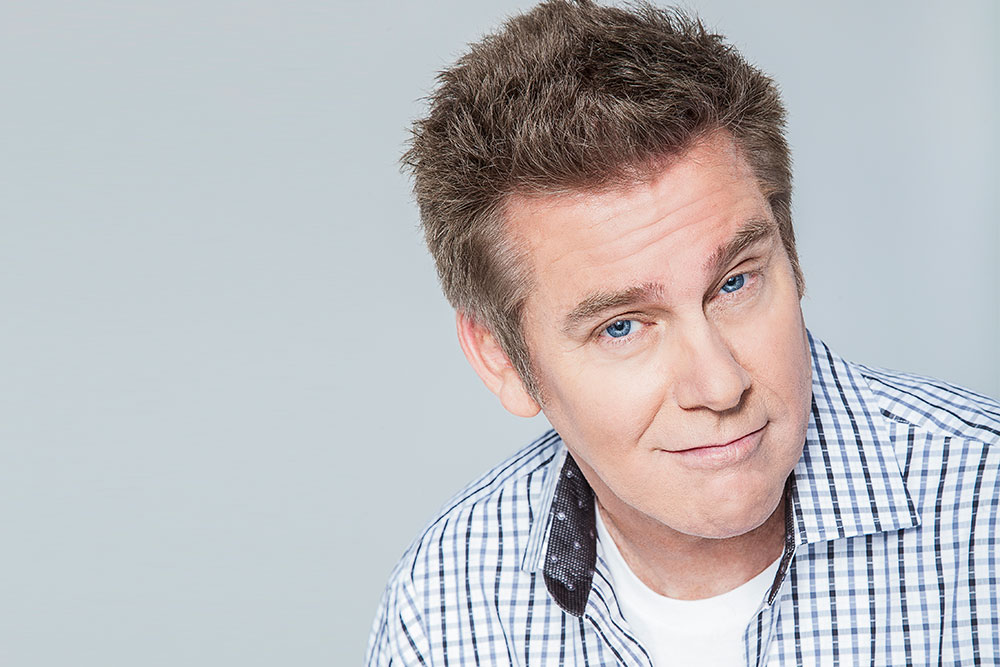 Brian Regan talks Jerry Seinfeld, Letterman and Justin Bieber, naturally