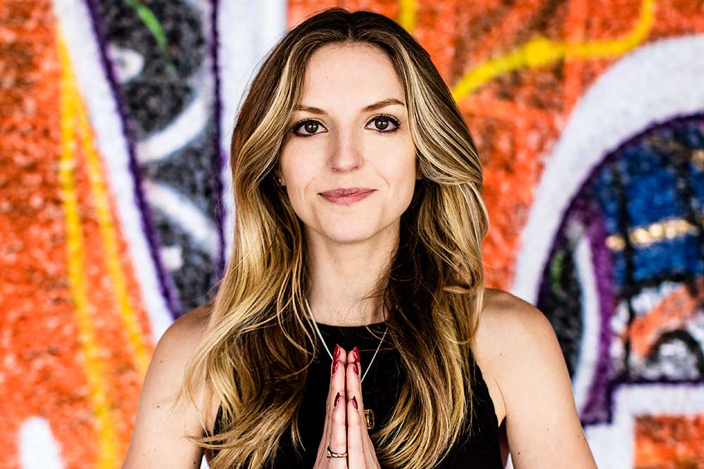 Maude Hirst, founder of Yoga with Maude, on how yoga and meditation has changed her life