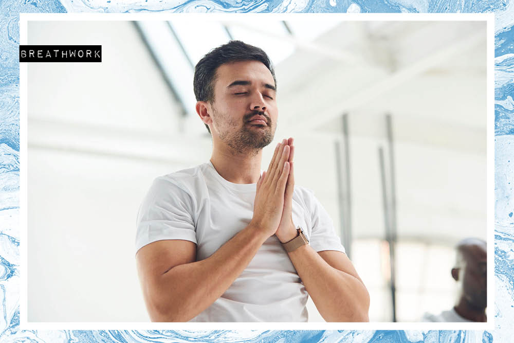 Richie Bostock, aka The Breath Guy, shares 3 breathing techniques to calm your system