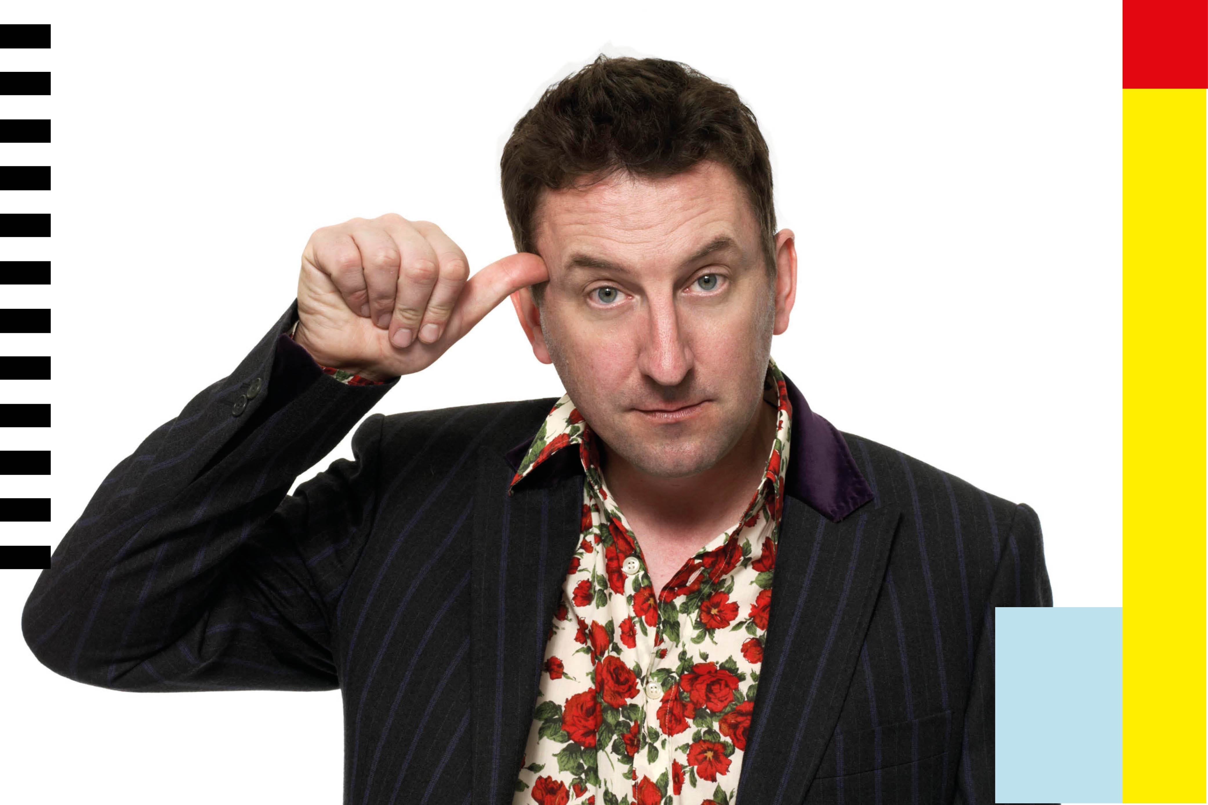 Lee Mack on the art of quick thinking