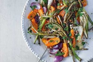 Recipe: Alexandra Dudley's sad vegetable salad