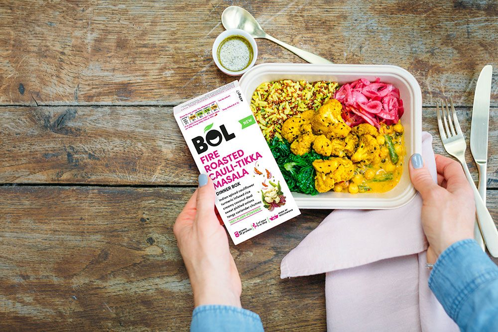 Win 3 months of BOL 100% Plant-Powered Meals + BOL merch, worth £400