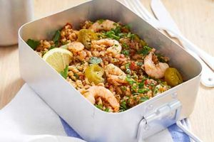 Recipe: Lorraine Pascale's spiced prawn lunch box for mums-to-be