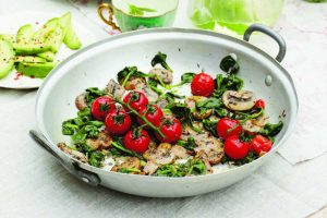 Recipe: Deliciously Ella's perfect garden fry-up
