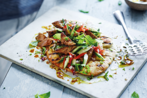 Recipe: Joe Wicks' easy lamb tikka flatbreads