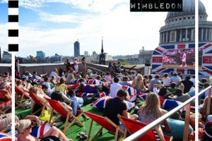 10 of the Best Summery Screens for watching Wimbledon in London